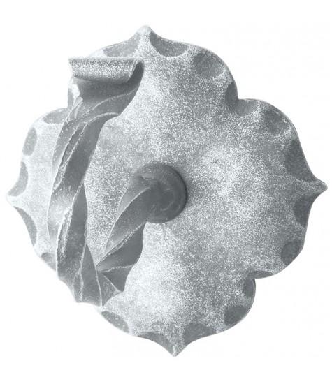 Deckenhaken rustikal aus Schmiedeeisen, antik-grau (thermopatiniert®)