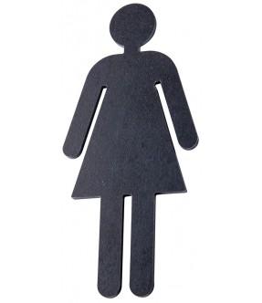 Toilettenpiktogramm Frau