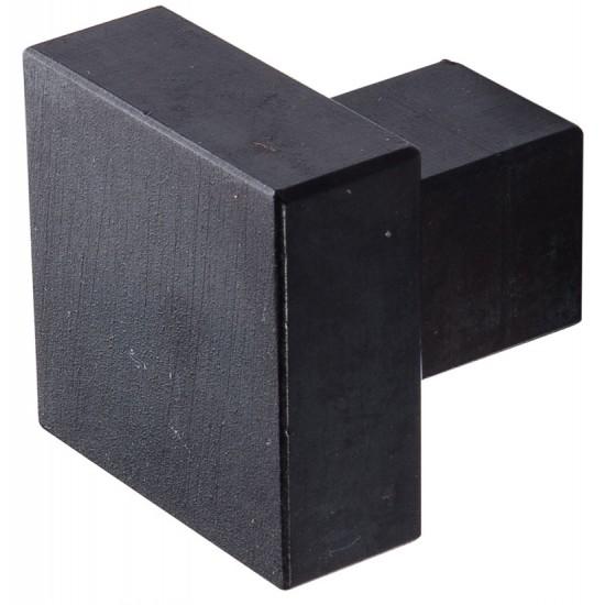 Möbelknopf aus Schwarzstahl